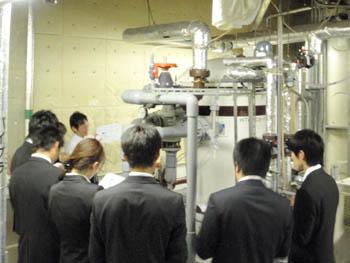 2011年9月2日:ショウエイ内定者研修会の様子