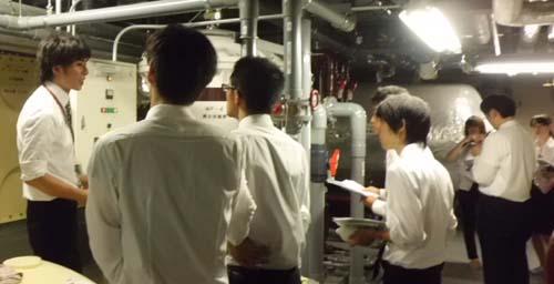 2012年8月3日:ショウエイ内定者研修会の様子